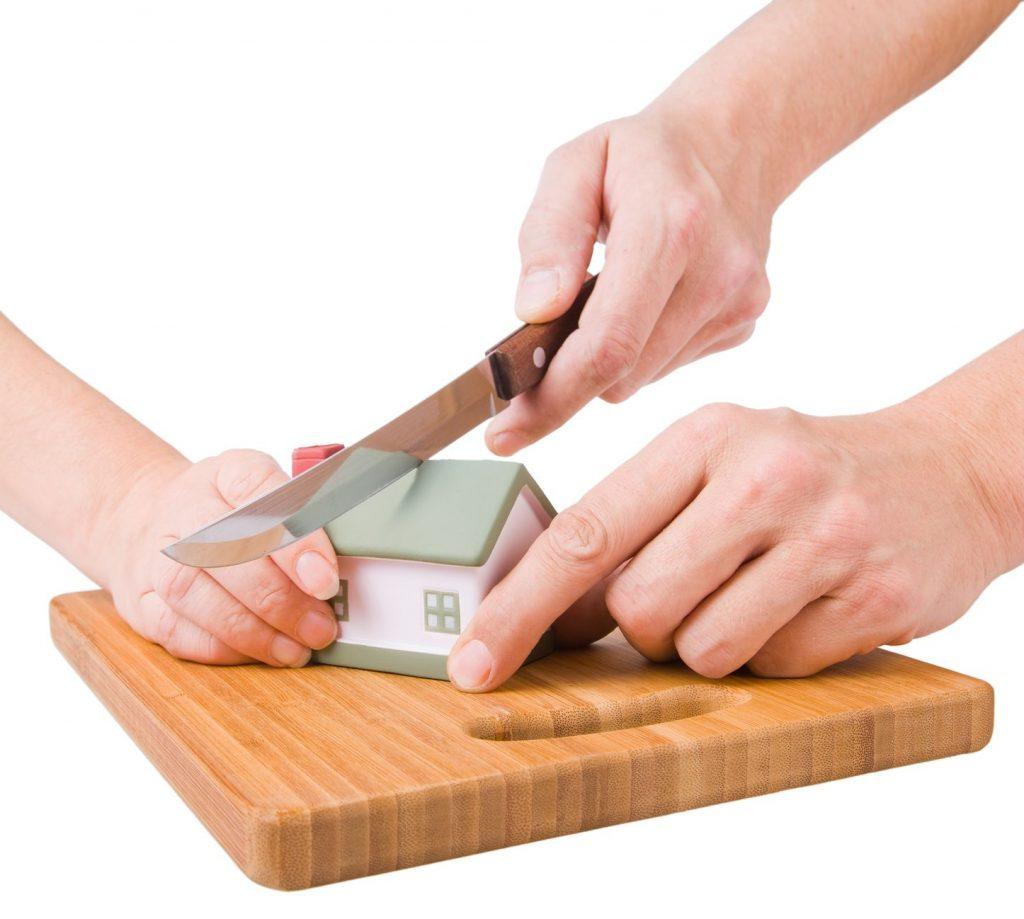 раздел квартиры или дома при разводе