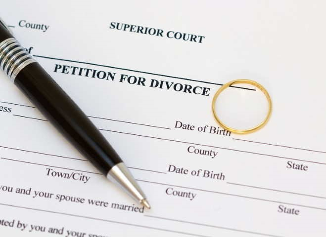 Развод с женой